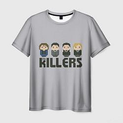 Футболка мужская The Killers Boys цвета 3D — фото 1