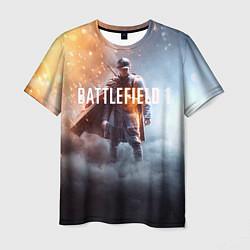 Футболка мужская Battlefield One цвета 3D — фото 1