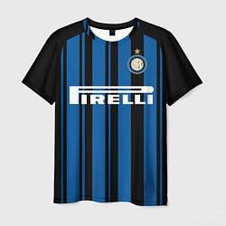 Футболка мужская Inter FC: Home 17/18 цвета 3D — фото 1