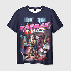 Футболка мужская Payday Two цвета 3D — фото 1
