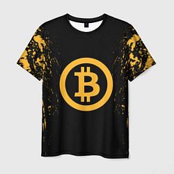 Футболка мужская Bitcoin Master цвета 3D — фото 1