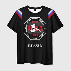 Футболка мужская MMA Russia цвета 3D — фото 1