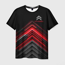 Футболка мужская Citroen: Red sport цвета 3D — фото 1