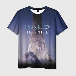 Футболка мужская Halo: INFINITE цвета 3D-принт — фото 1