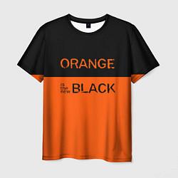 Футболка мужская Orange Is the New Black цвета 3D — фото 1