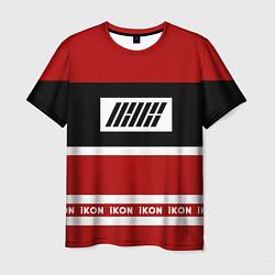 Футболка мужская IKON Stripes цвета 3D — фото 1