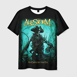 Футболка мужская Alestorm: Death Pirate цвета 3D-принт — фото 1