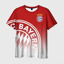 Футболка мужская ФК Бавария цвета 3D-принт — фото 1