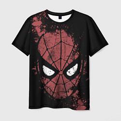 Футболка мужская Spider-man Splashes цвета 3D — фото 1