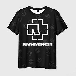 Футболка мужская Rammstein 1 цвета 3D-принт — фото 1