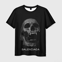 Мужская 3D-футболка с принтом Balenciaga, цвет: 3D, артикул: 10200676503301 — фото 1