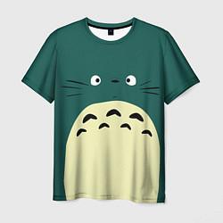 Футболка 3D мужская Totoro - фото 1