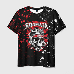 Футболка мужская Stigmata цвета 3D-принт — фото 1