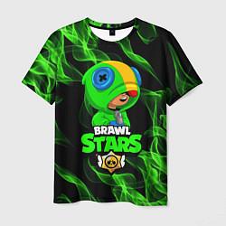 Футболка мужская BRAWL STARS LEON цвета 3D — фото 1