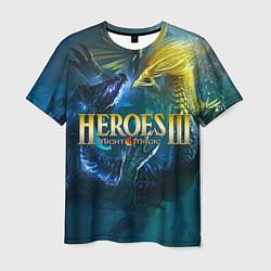 Футболка мужская Heroes of Might and Magic цвета 3D-принт — фото 1
