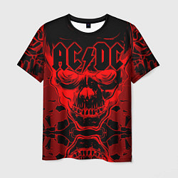 Мужская 3D-футболка с принтом ACDC, цвет: 3D, артикул: 10206883103301 — фото 1