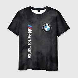 Футболка мужская BMW M PERFORMANCE цвета 3D — фото 1