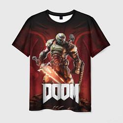 Футболка мужская Doom цвета 3D — фото 1