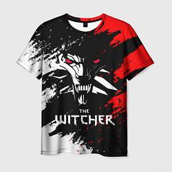 Футболка мужская The Witcher цвета 3D — фото 1