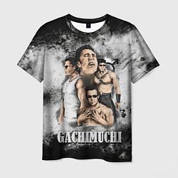 Футболка мужская Gachimuchi 1 1 цвета 3D — фото 1