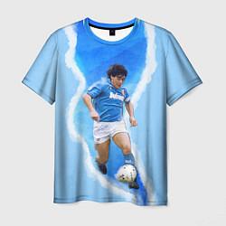 Футболка мужская Диего Армандо цвета 3D-принт — фото 1