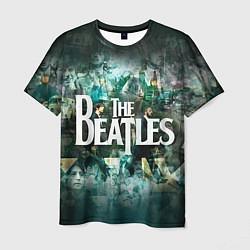 Футболка мужская The Beatles Stories цвета 3D-принт — фото 1