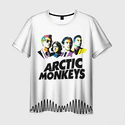 Футболка мужская Arctic Monkeys: Music Wave цвета 3D — фото 1