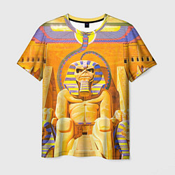 Футболка мужская Iron Maiden: Pharaon цвета 3D — фото 1