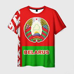Футболка мужская Belarus Patriot цвета 3D-принт — фото 1