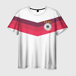 Футболка мужская Сборная Германии по футболу цвета 3D-принт — фото 1