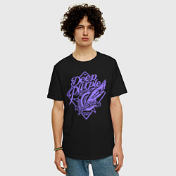 Футболка оверсайз мужская Deep Purple: Highway Star цвета черный — фото 2