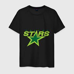 Футболка хлопковая мужская Dallas Stars цвета черный — фото 1