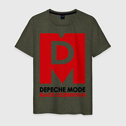 Футболка хлопковая мужская Depeche Mode: Black Celebration - фото 1