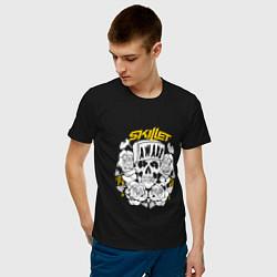 Мужская хлопковая футболка с принтом Skillet: Awake, цвет: черный, артикул: 10154762300001 — фото 2