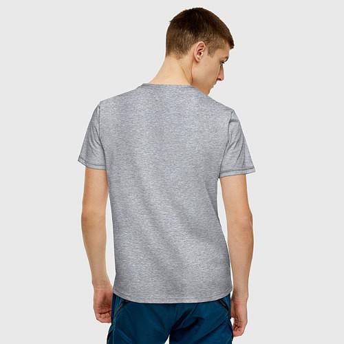 Мужская футболка Made in 1992 / Меланж – фото 4