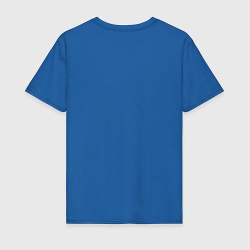 Мужская футболка Личное дело - собо опасен / Синий – фото 2