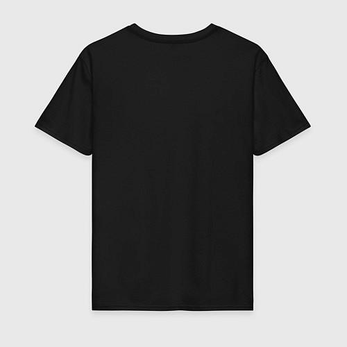 Мужская футболка Помогу завалить Циклопа / Черный – фото 2