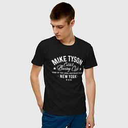 Футболка хлопковая мужская Mike Tyson: Boxing Club цвета черный — фото 2