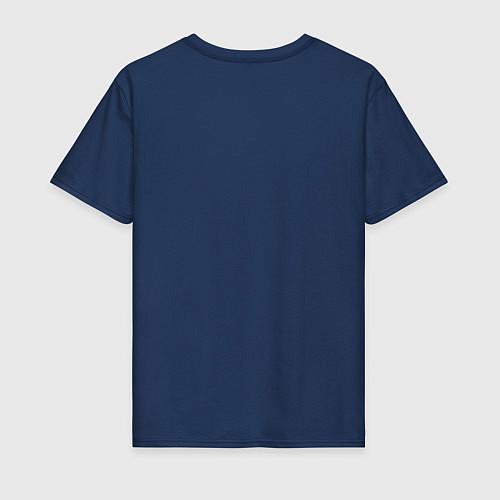 Мужская футболка Nero / Тёмно-синий – фото 2