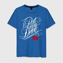 Футболка хлопковая мужская Parkway Drive: IRE цвета синий — фото 1