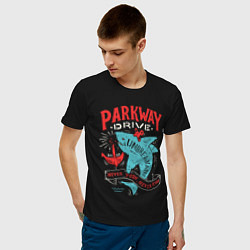 Футболка хлопковая мужская Parkway Drive: Unbreakable цвета черный — фото 2
