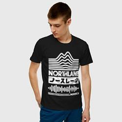 Футболка хлопковая мужская Northlane Music цвета черный — фото 2
