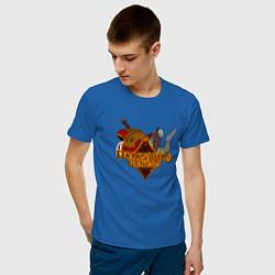 Футболка хлопковая мужская Darksiders Genesis цвета синий — фото 2