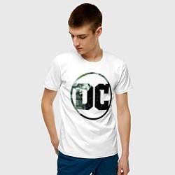 Футболка хлопковая мужская Joker цвета белый — фото 2