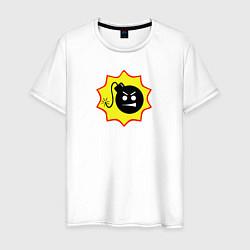 Футболка хлопковая мужская Serious Sam 4 цвета белый — фото 1