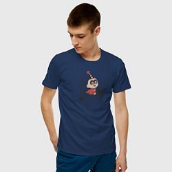 Футболка хлопковая мужская The Incredibles цвета тёмно-синий — фото 2