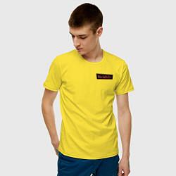Футболка хлопковая мужская WandaVision цвета желтый — фото 2