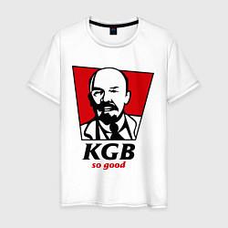 Футболка хлопковая мужская KGB: So Good цвета белый — фото 1
