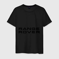 Футболка хлопковая мужская Range Rover цвета черный — фото 1