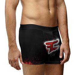 Трусы-боксеры мужские FaZe Clan: Black collection цвета 3D-принт — фото 2